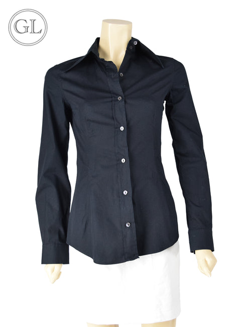 Dolce & Gabbana Black Button Up - US 10