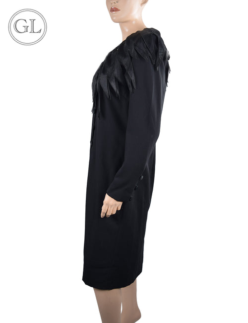 Givenchy Black Long Sleeve Dress - US 12