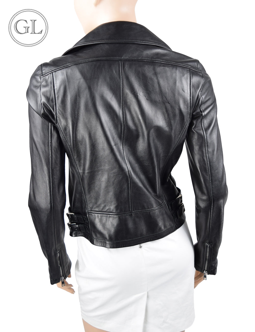 Gucci Black Leather Jacket - US 8