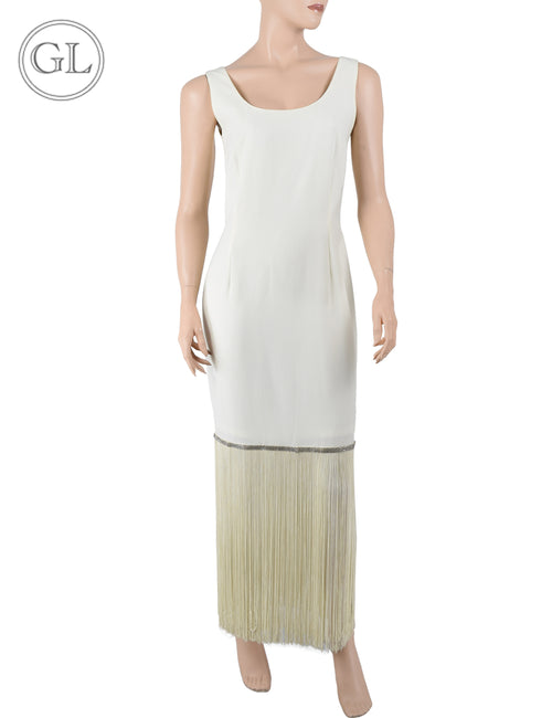 Mas Fiesta White Dress - US 8