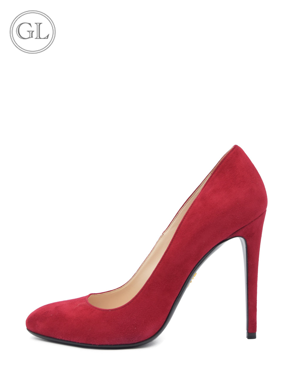Prada Dark Red Suede Pumps - EU 38