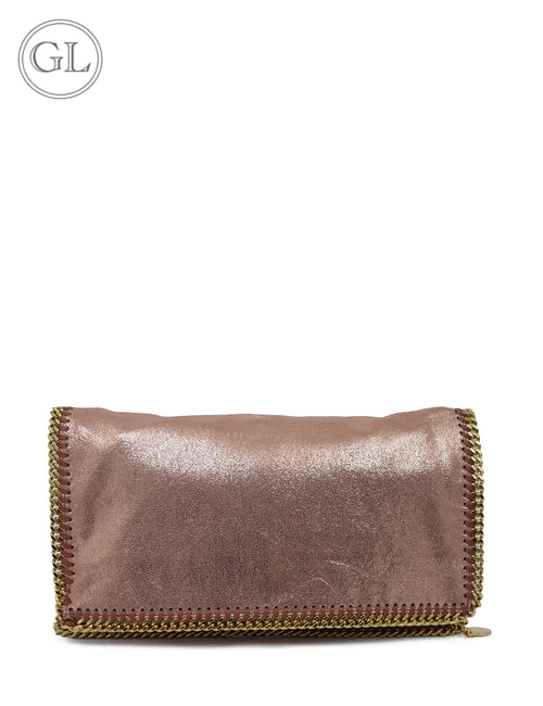Stella McCartney Rose Gold Clutch