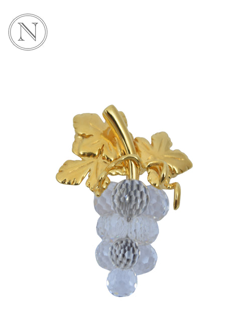 Swarovski Grapes Brooch