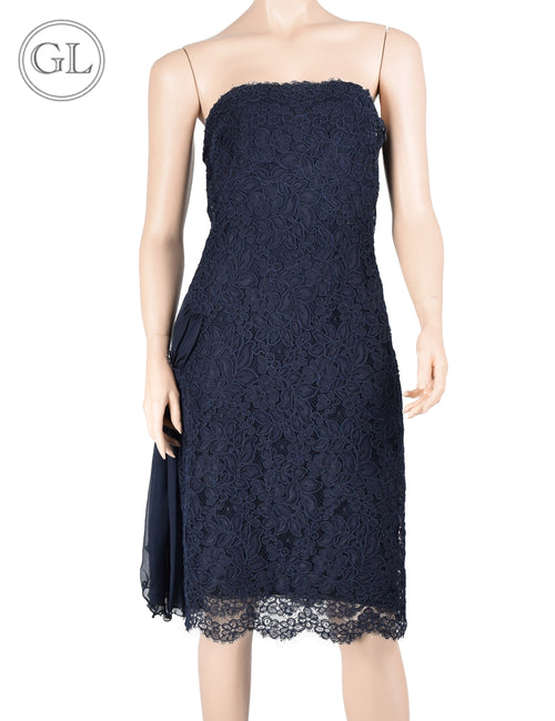 Valentino Navy Dress - US 8
