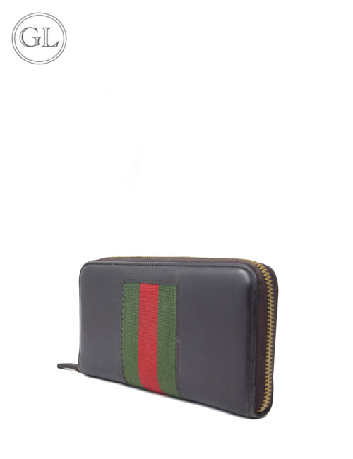 Gucci- Continental web wallet