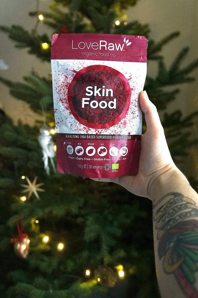 LoveRAW skin food late christmas gift!
