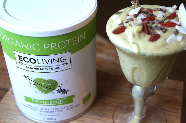 MatchaBoost Ecoliving proteinpulver