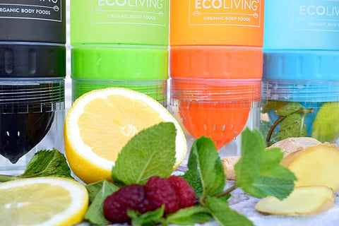 Fruit infuser water bottle from Ecoliving
