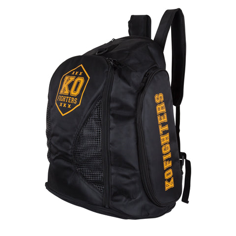 Backpack KO Fighters (black)