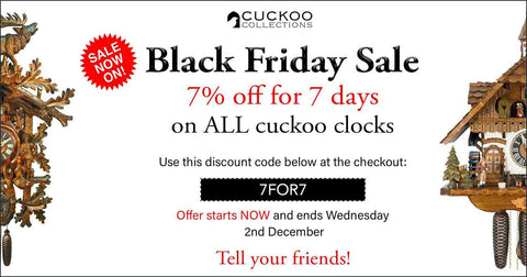 Black Friday Sale: 7% off for 7 days
