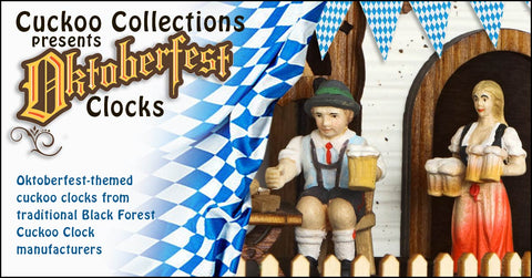 Oktoberfest Themed Cuckoo Clocks 2017
