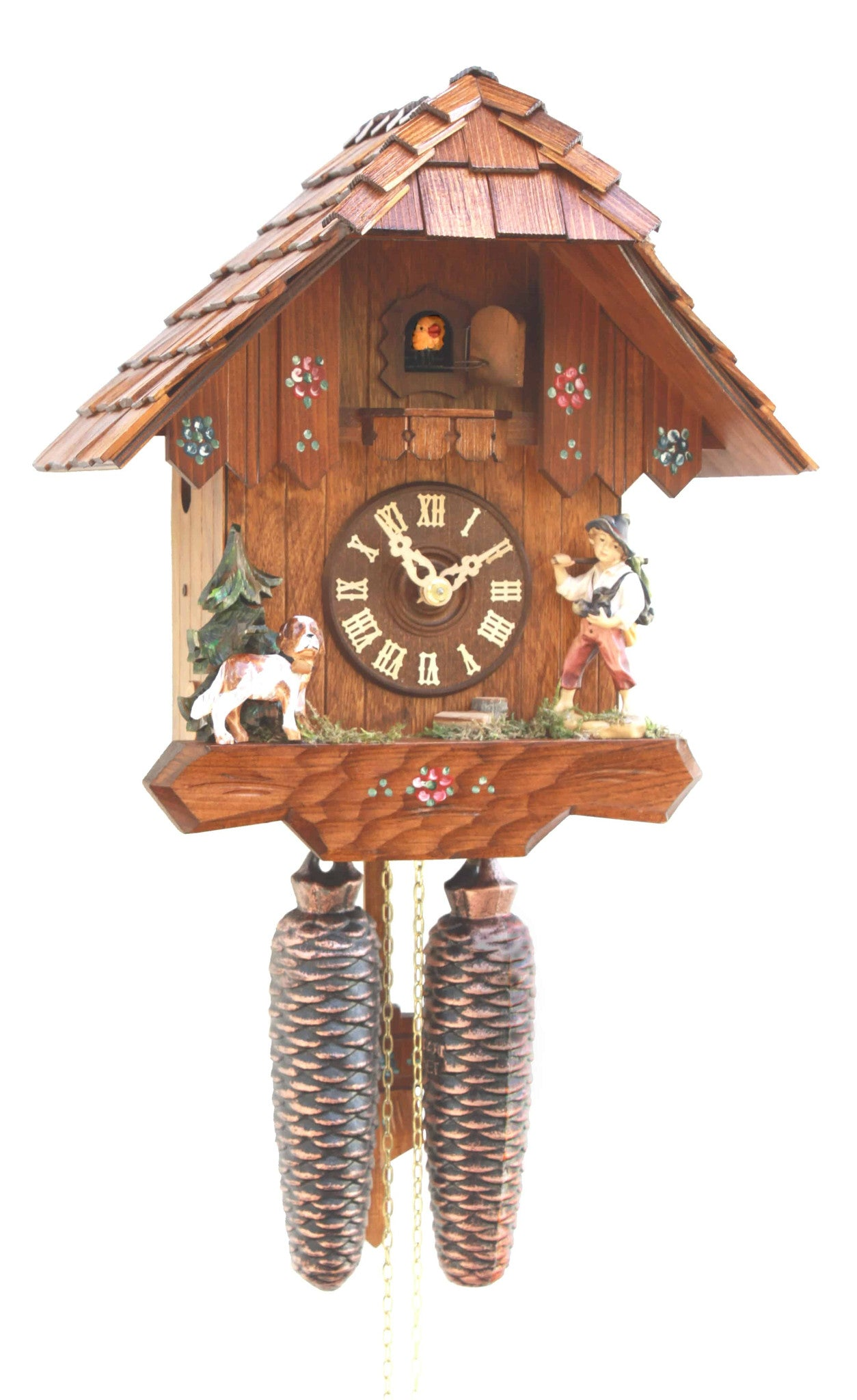 Chalet Style 8 Day Movement Cuckoo Clock Black Forest