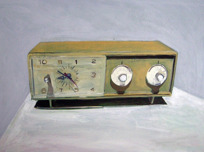 Zenith Clock Radio by Jessica Brilli