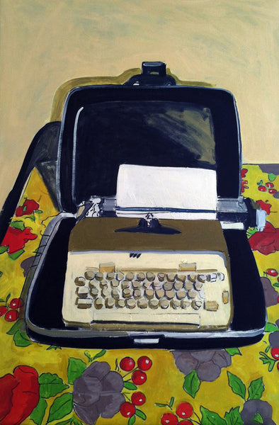 Walt's Typewriter by Jessica Brilli