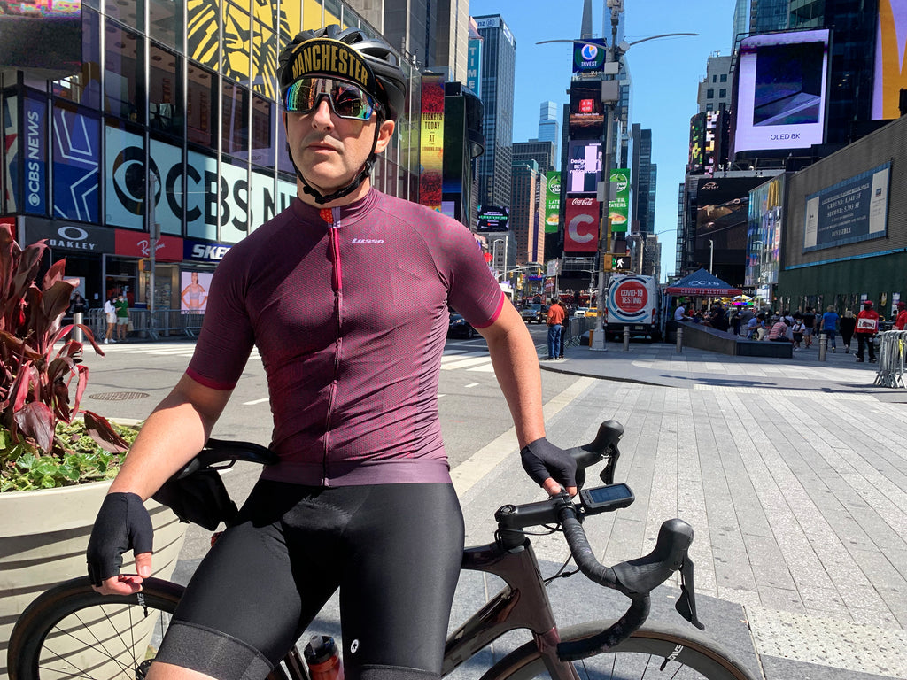 Paul Grosso in Times Square