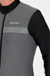 Grey Thermal Jacket - Lusso Cycle Wear