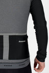 Grey Thermal Jersey - Lusso Cycle Wear