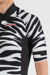 Zebra Short Sleeve Jersey - Womens - Lusso Cycle Wear