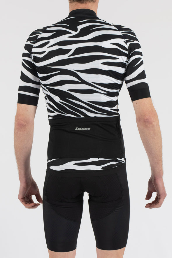 Zebra Short Sleeve Jersey - Lusso Cycle Wear