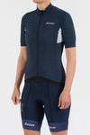 Energy Navy Short Sleeve Jersey - Womens - Lusso Cycle Wear