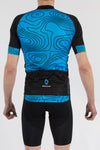 Terrain Blue Short Sleeve Jersey - Lusso Cycle Wear