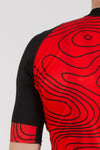 Terrain Red Short Sleeve Jersey - Lusso Cycle Wear