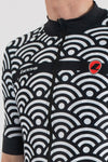 Hacienda Black Short Sleeve Jersey - Lusso Cycle Wear