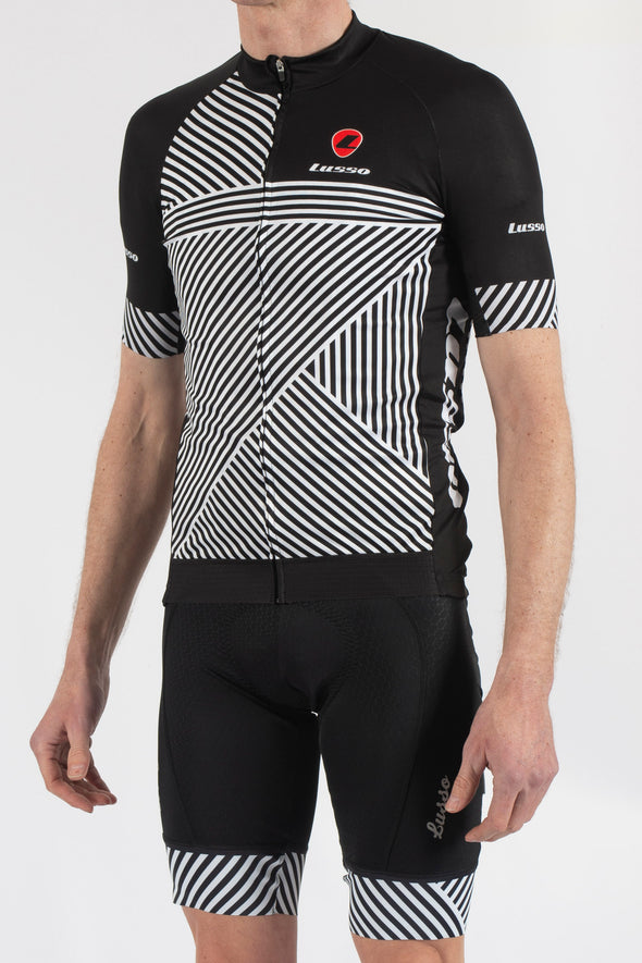 Stripes Short Sleeve Jersey - Lusso Cycle Wear