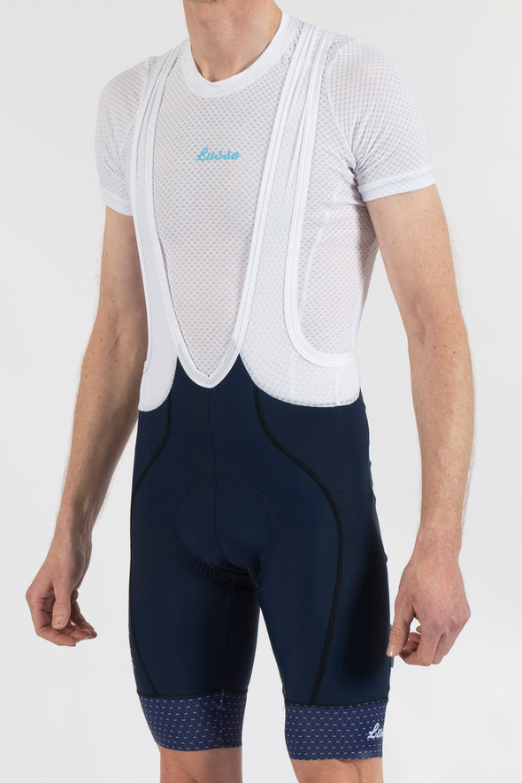 Energy Navy Bibshorts - Lusso Cycle Wear