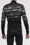 Dash Black Long Sleeve Jersey - Lusso Cycle Wear
