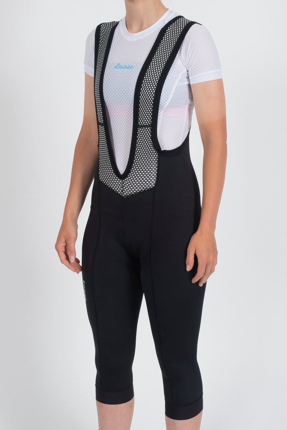 Cooltech ¾ Bib Tights - Womens - Lusso Cycle Wear