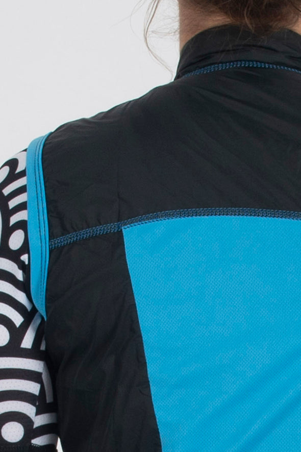 Gilet Black Womens - Lusso Cycle Wear