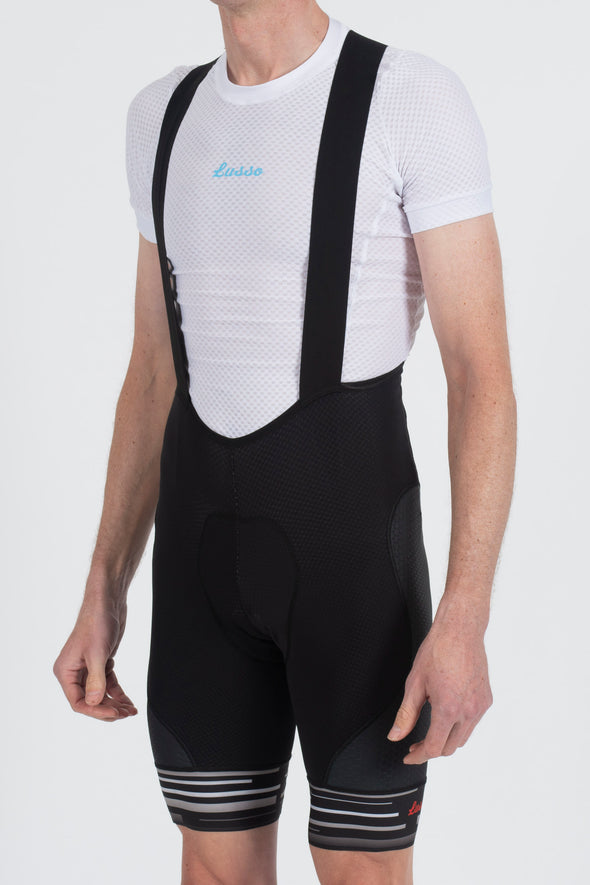 Synergy Bibshorts Black - Lusso Cycle Wear