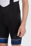 Synergy Bibshorts Blue - Lusso Cycle Wear