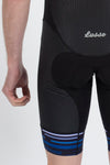 Dash Bibshorts Blue - Lusso Cycle Wear