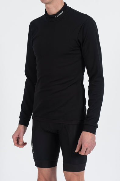 Bio-reactive Thermal Polo Long Sleeve Base layer - Lusso Cycle Wear