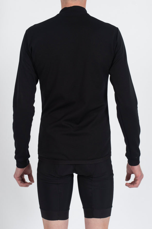 Bioactive Thermal Polo Long Sleeve Base layer - Lusso Cycle Wear