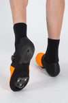 Thermal Toe Covers - Orange - Lusso Cycle Wear