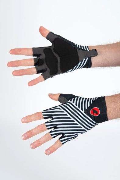 Stripes Summer Gloves - Lusso Cycle Wear