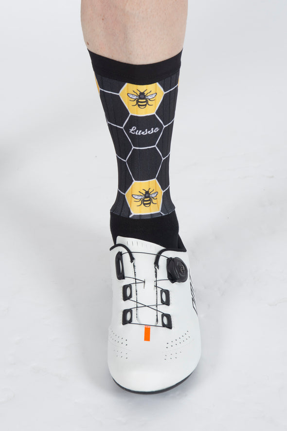 Bee Active Aero Socks - Lusso Cycle Wear