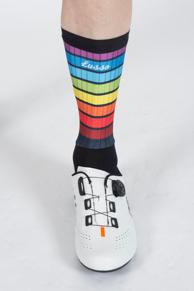 Kaleidoscope Active Aero Socks - Lusso Cycle Wear