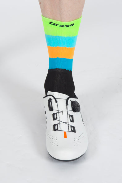 SoftAir Socks Waves Multi - Lusso Cycle Wear