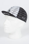 Zig Zag White Cycle Cap - Lusso Cycle Wear