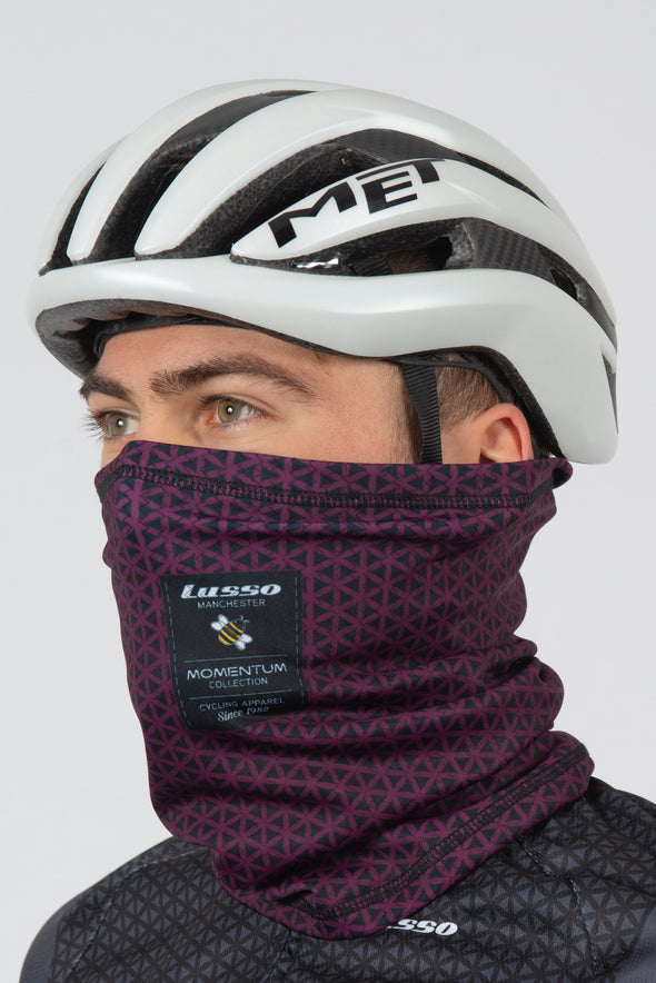 Momentum Carbon Thermal Buff - plum - Lusso Cycle Wear