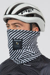 Stripes Carbon Thermal Buff - Lusso Cycle Wear