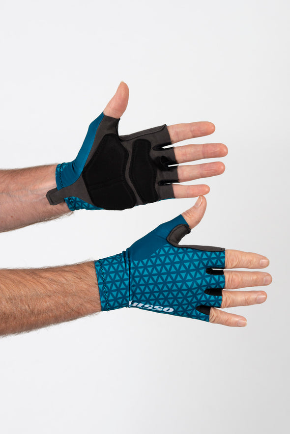 Momentum Summer Glove Teal - Lusso Cycle Wear