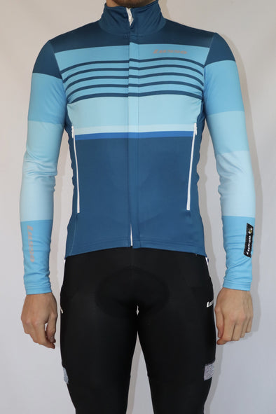 Rivington Jacket - Blue - Lusso Cycle Wear
