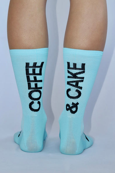 Coffee & Cake Summer Socks - Lusso Cycle Wear