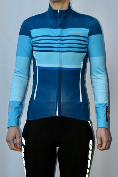 Rivington Jacket women's - Blue - Lusso Cycle Wear