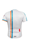 Le Mans S/S Jersey White - Lusso Cycle Wear
